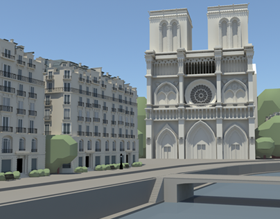 3D Environment Modeling Reel on Behance