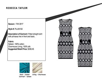 Tech Pack: Dress