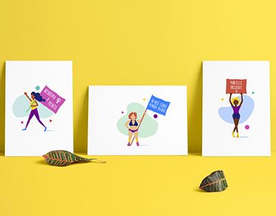 Feminist Manifesto Illustrations