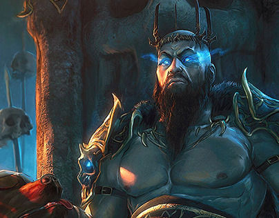 Hades, God of the Underworld