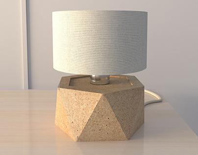 Oh My Sawdust! - Mini Table Lamp