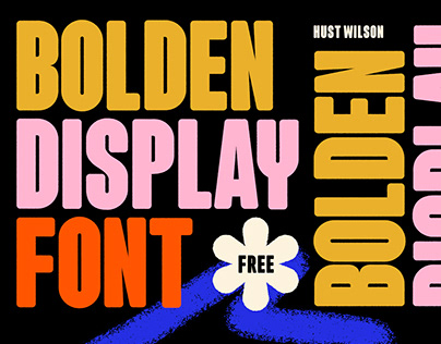 BOLDEN DISPLAY - FREE FONT