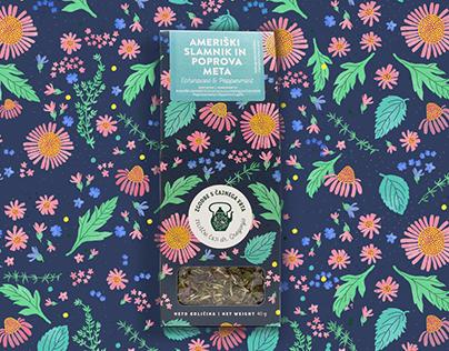 Herbal Garden Tea Packaging