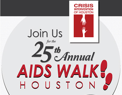 Crisis Intervention of Houston AIDS Walk promotion 2014