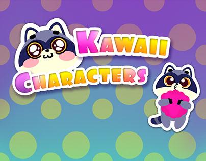 kawaii and fun stickers