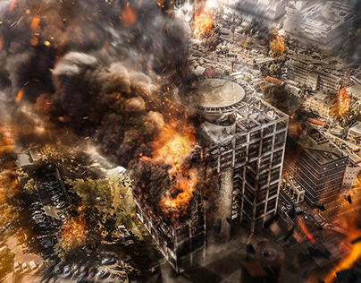 City Destruction | Photo Manipulation
