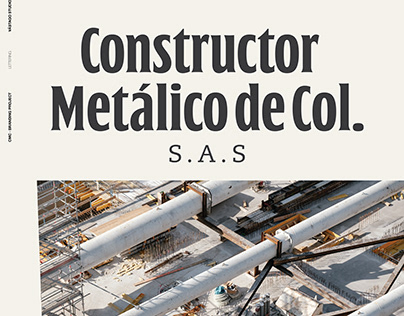 Re-Design Project · Logotype Constructor Metálico