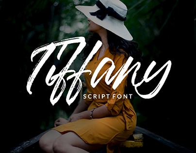 Tiffany Font!