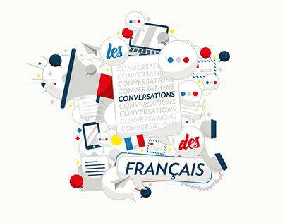 les conversations des français