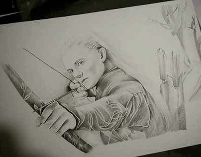 """Legolas - """"He stands not alone"""""""