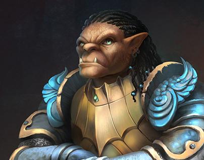 Gauwyn: Half-Orc Fighter