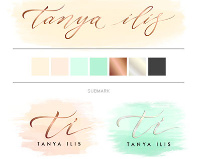 "New logo for Russian fashion studio ""Tanya Ilis"""