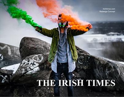 Irish Times - News portal redesign