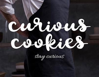 curious cookies brand design