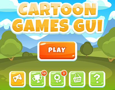 Cartoon Games GUI