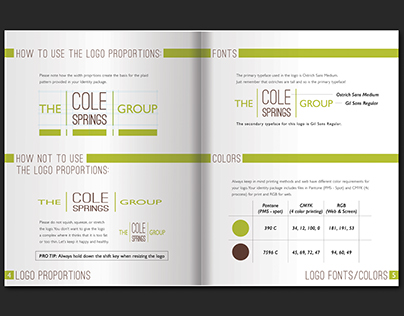 ID System - The Cole Springs Group