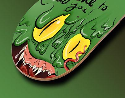 Green Monster/projet fictif
