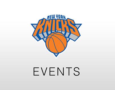 Knicks Events