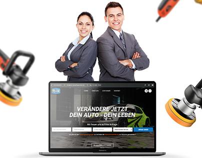 Imo Autopflege Center Delmenhorst - Webseite UI/UX