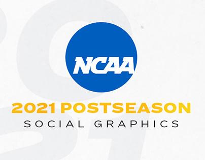 2021 NCAA Postseason Social Graphics