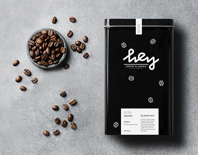 Hey Coffee & Cookie - Brand Identity