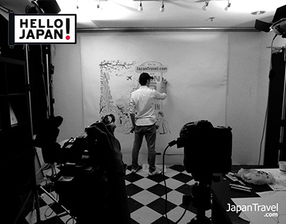 Timelapse Commercial on Hello Japan Channel