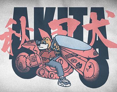 AKITA (AKIRA fan art)