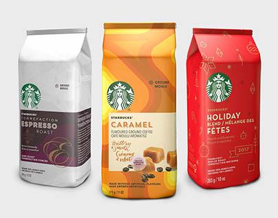 Starbucks — Emballage 3D