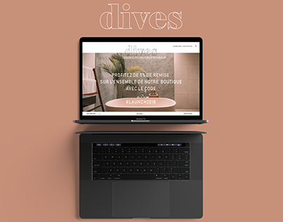 Dives - UX/UI