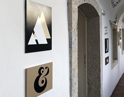 Tipografija ∼ Topografija Exhibition