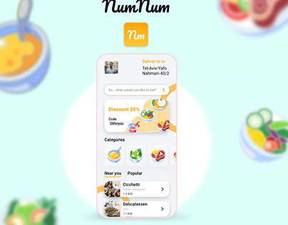NumNum Food deliveries