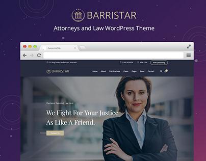 Barrister Law WordPress Theme