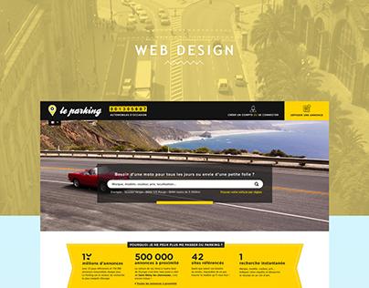 Le parking Website