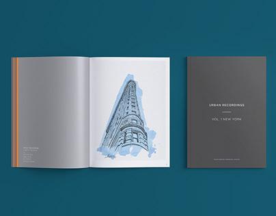 Urban Recordings - Vol.1 New York Series A5 Publication