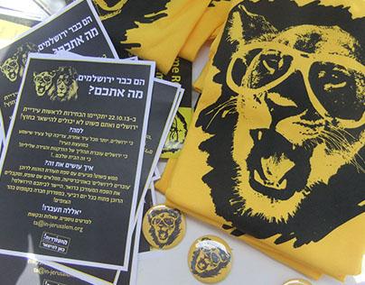 """""""Hitorerut""""(Wakeup) - Students switch to jerusalem 2013"""