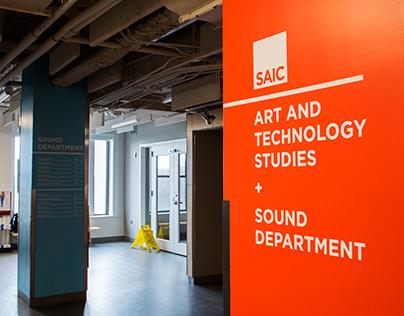 SAIC Campus Wayfinding System
