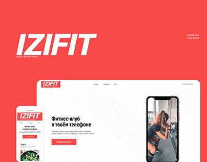Landing page - IZIFIT