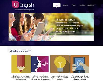 Diseño Página web youenglish