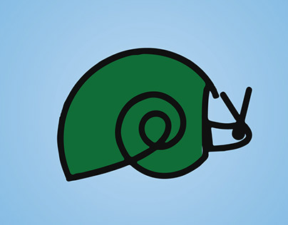 Snail (শামুক ) Design by Sazzad