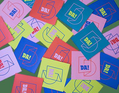 DA! festival 2019 / visual identity