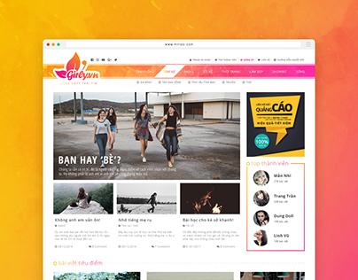 Webdesign | Girlyvn.com