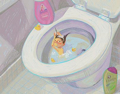 Washing My Hair