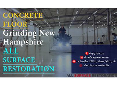 Concrete floor Grinding New Hampshire