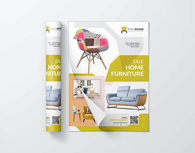 Furniture (Buy Sell) Flyer Template PSD Template