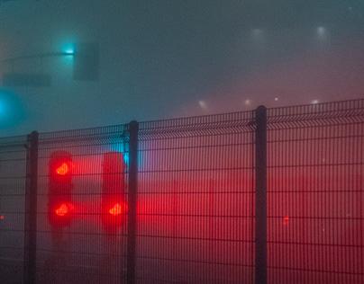 Foggy Los Angeles