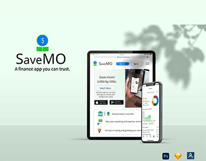 SaveMO - Money saving app