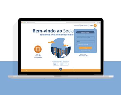 UI Redesign | SocialCondo Landing Page