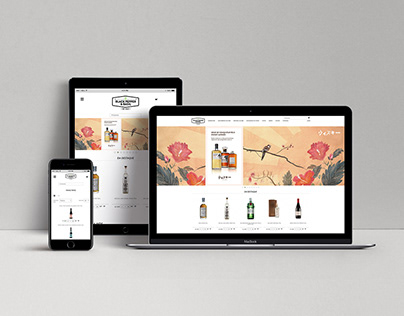 Website and Online store