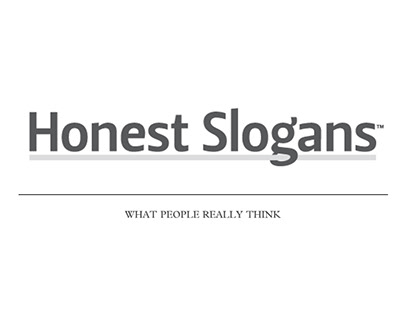Honest Slogans