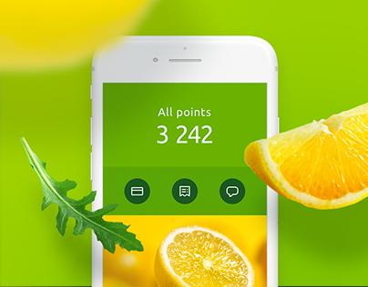 """Mobile App for Retailer """"Perekrestok"""""""